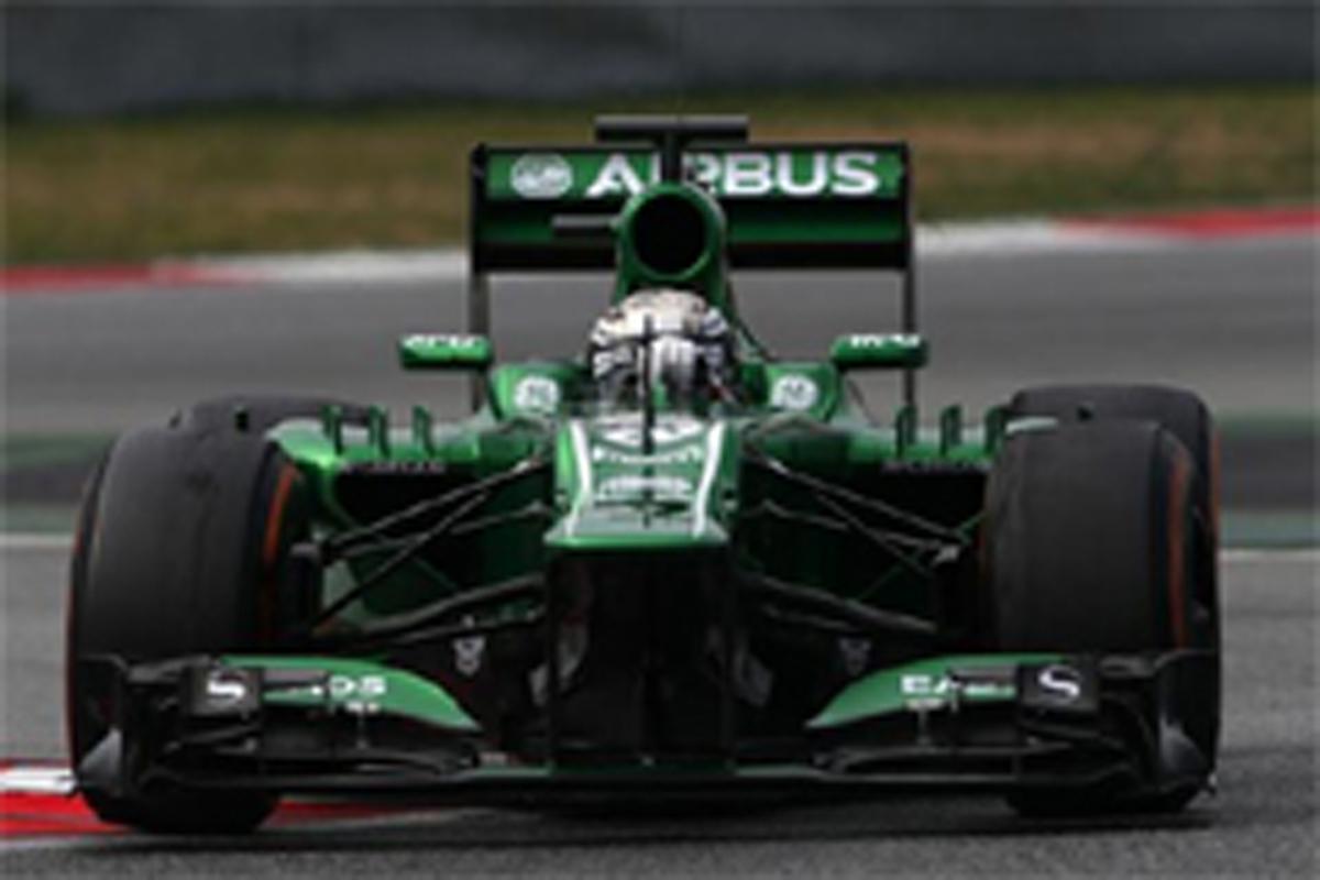 ケータハム F1 バルセロナテスト