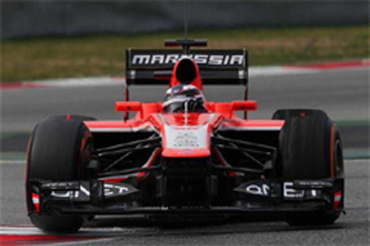 マルシャ F1 バルセロナテスト