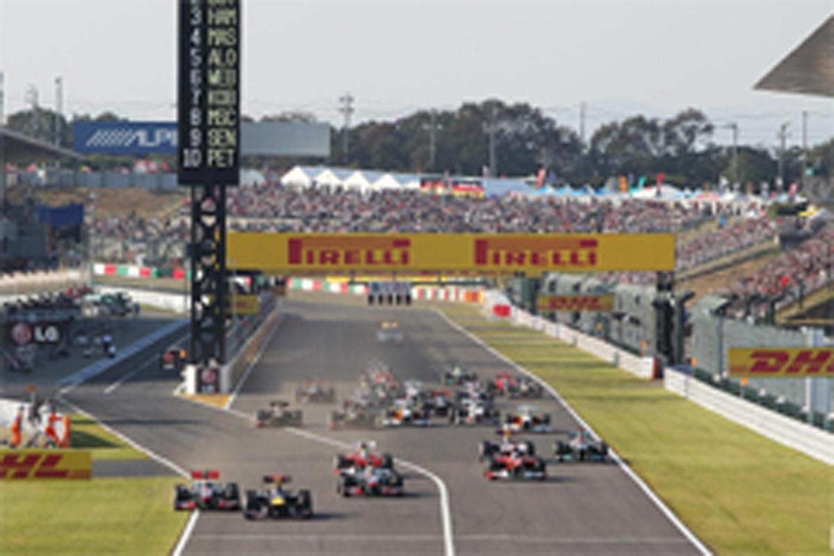 2013年 F1カレンダー