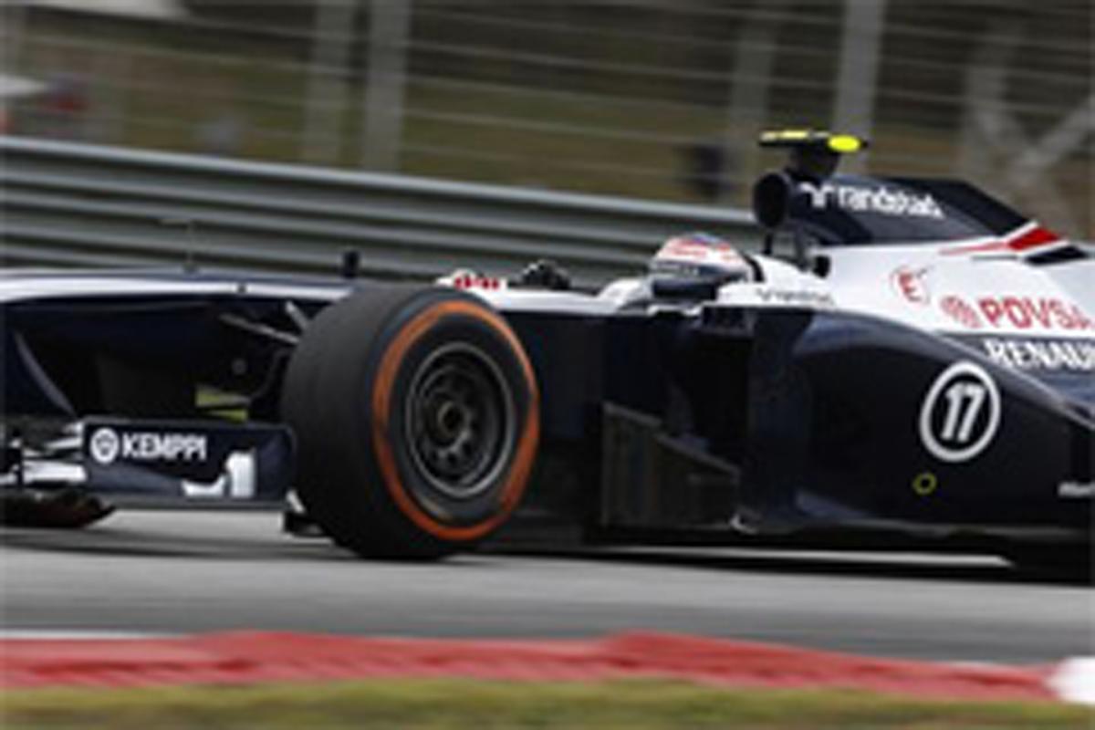 ウィリアムズ F1マレーシアGP 予選