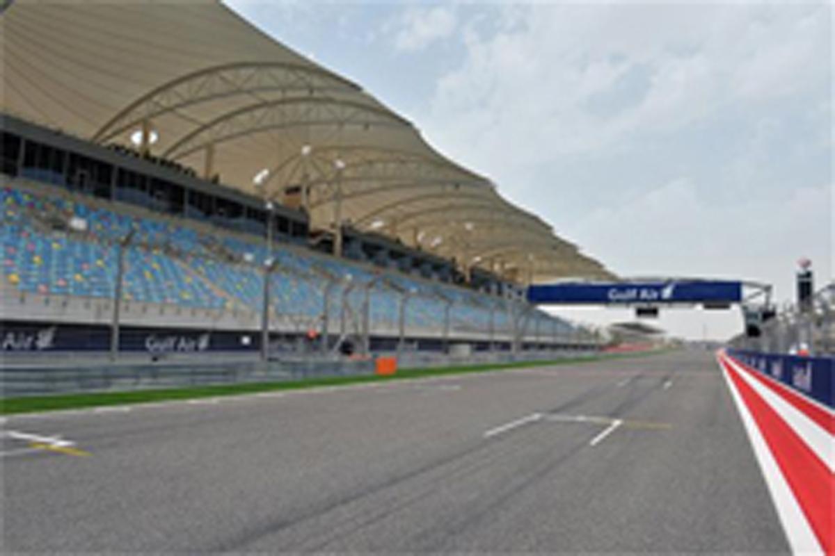 F1バーレーンGP フリー走行1回目
