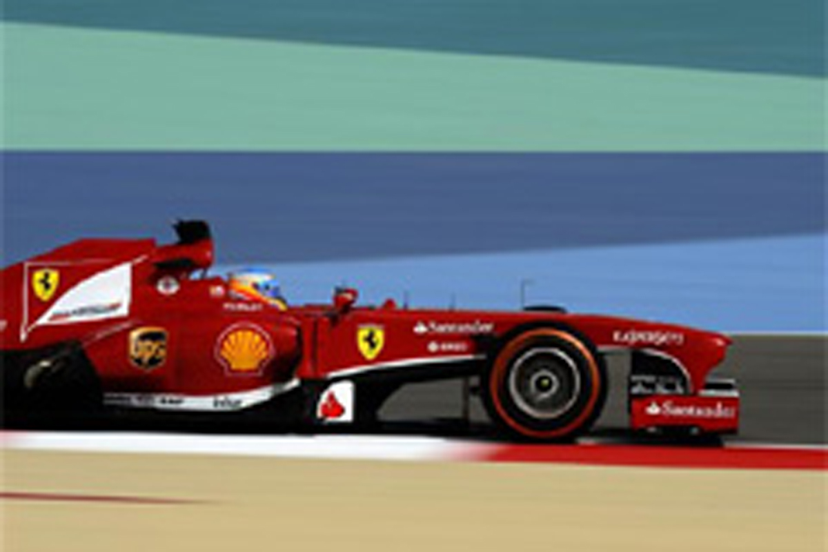 F1バーレーンGP フリー走行3回目