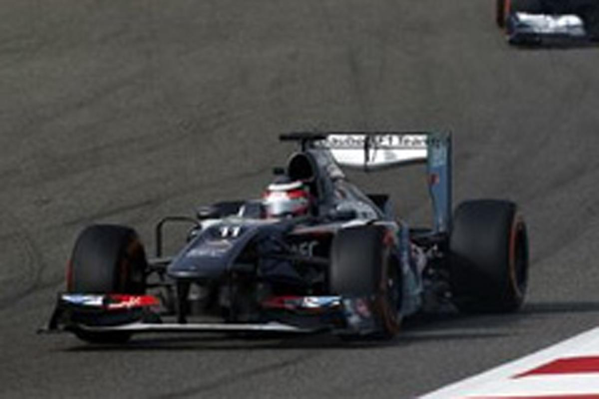 ザウバー F1バーレーンGP 結果