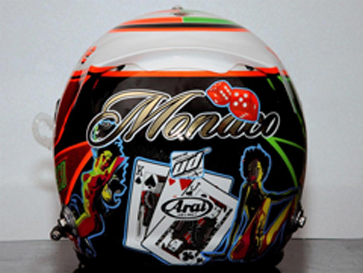セルジオ・ペレス F1モナコGP ヘルメット