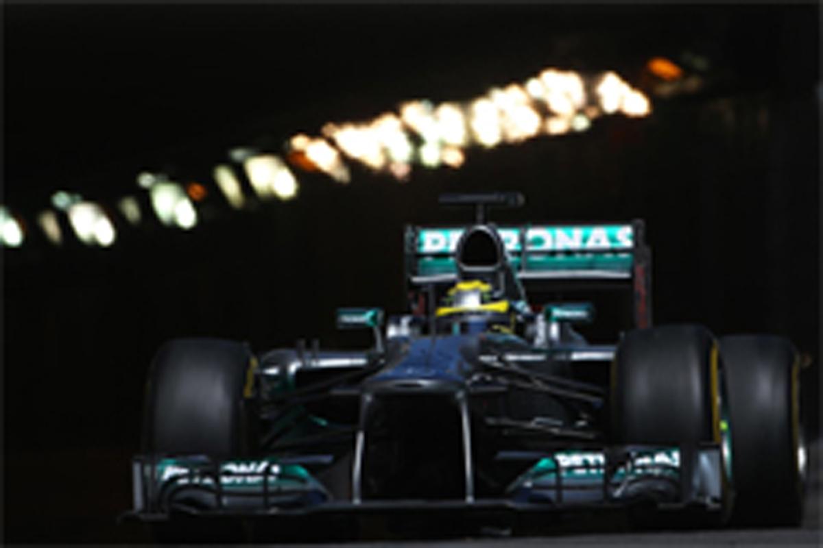 F1モナコGP フリー走行3回目