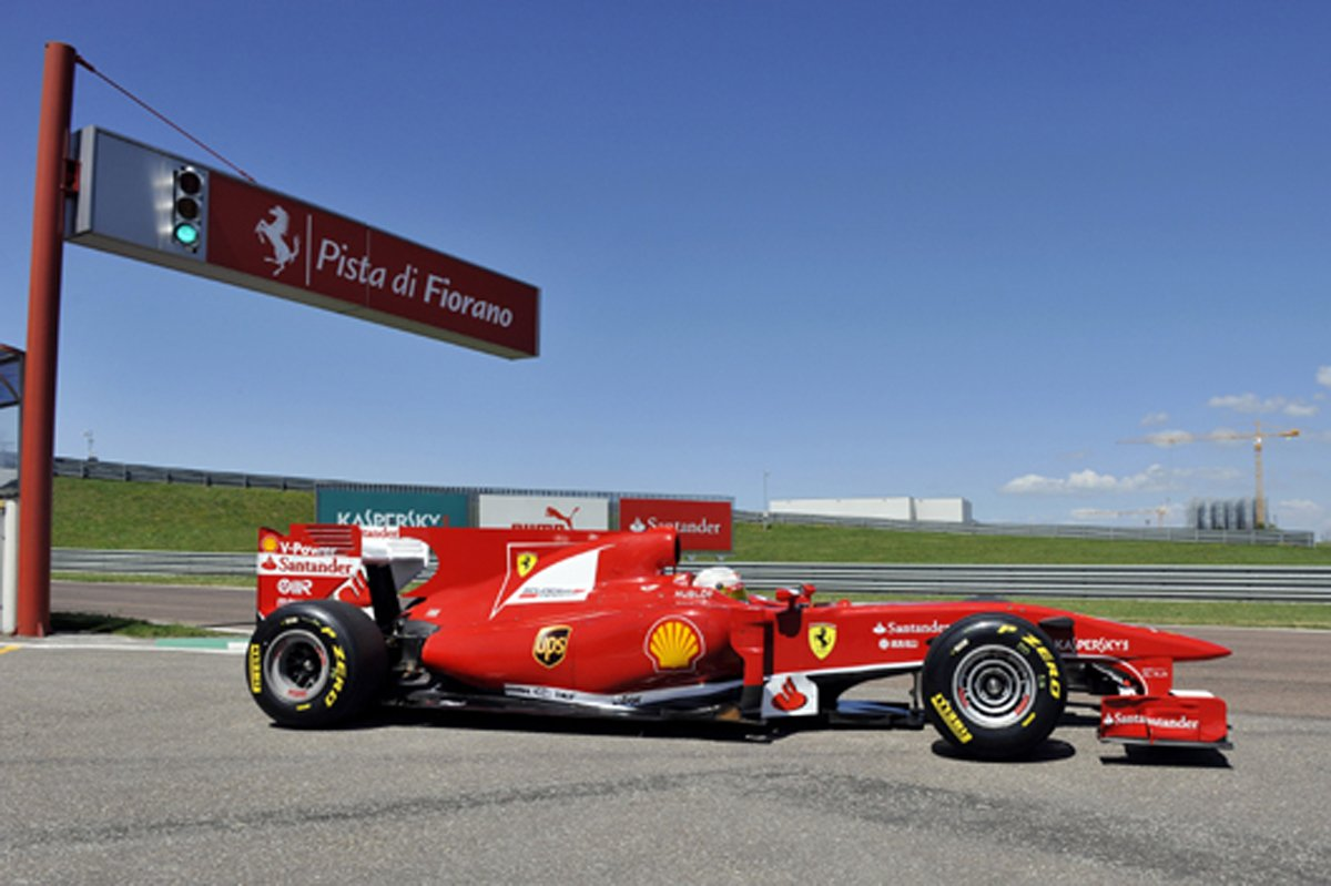 小林可夢偉 フェラーリ F10