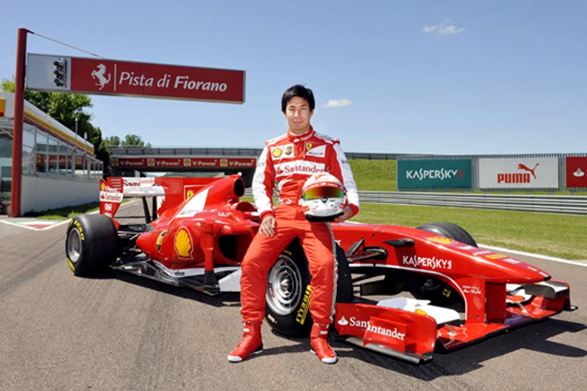 小林可夢偉 フェラーリF1