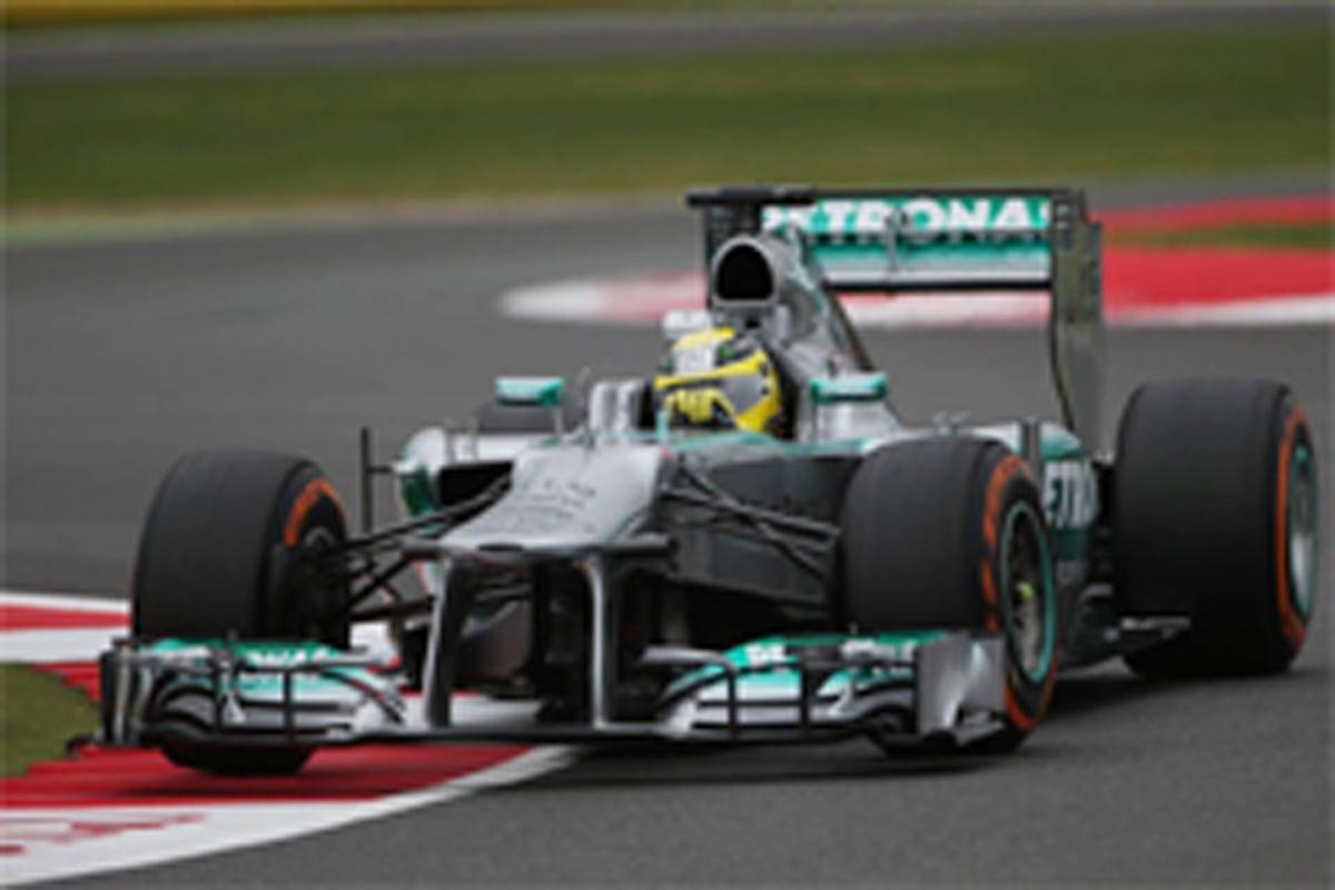 F1イギリスGP フリー走行3回目