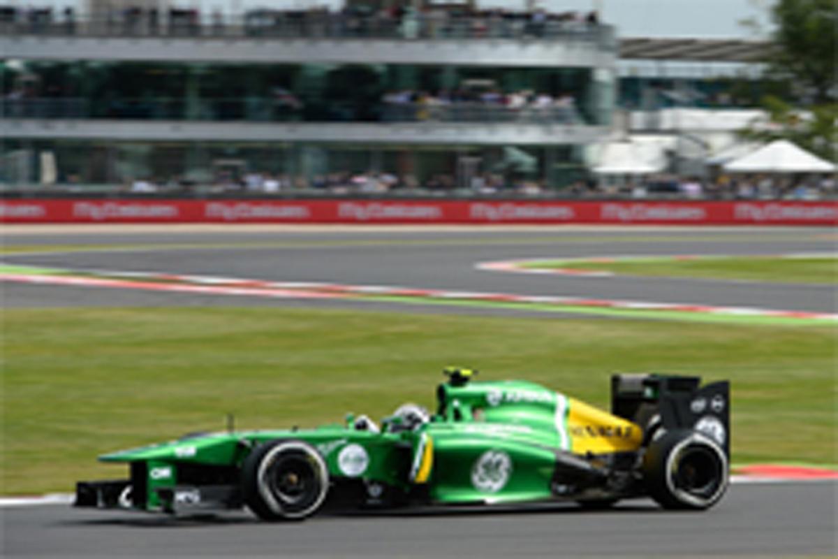 ケータハム F1イギリスGP 予選