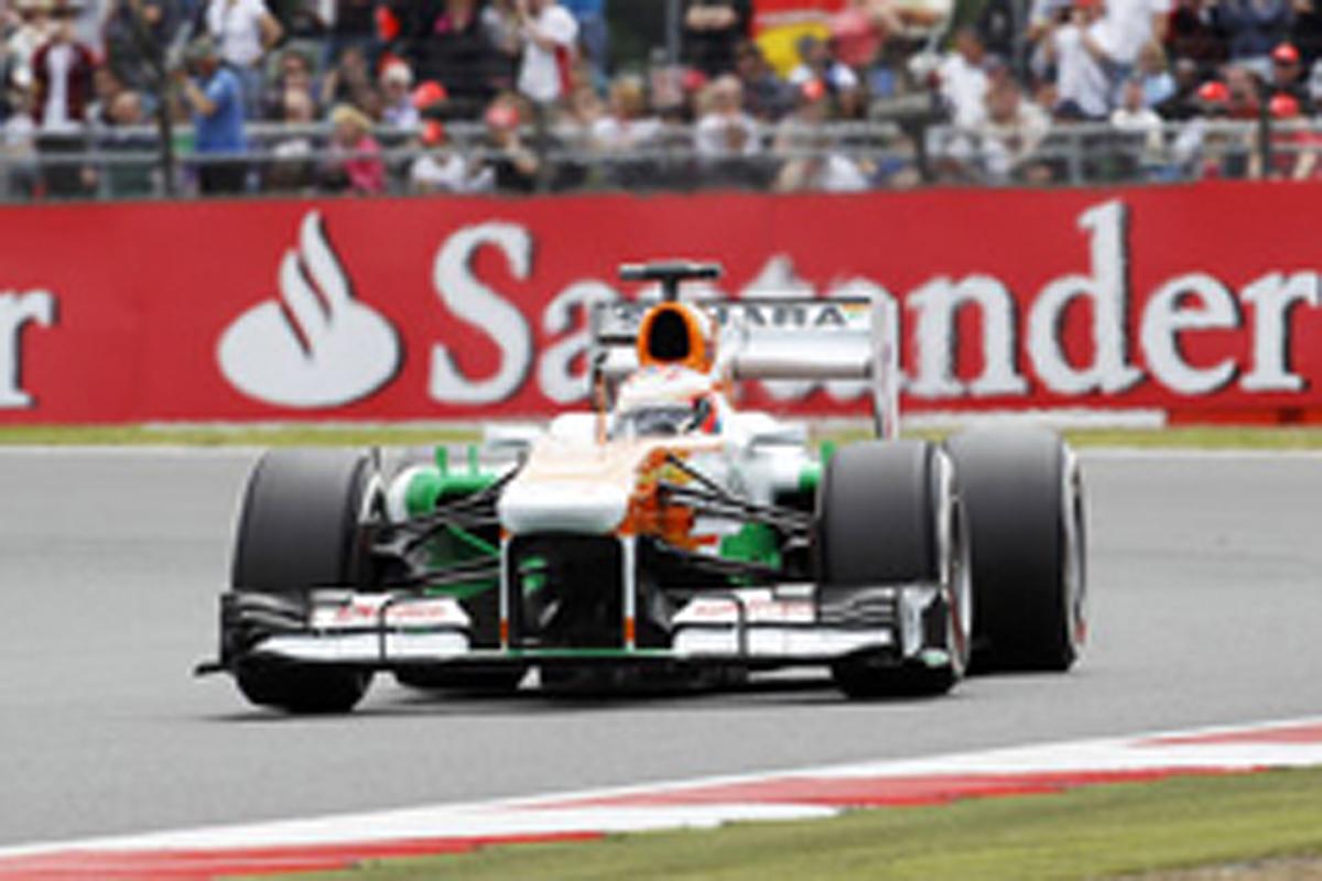 フォース・インディア F1イギリスGP 予選