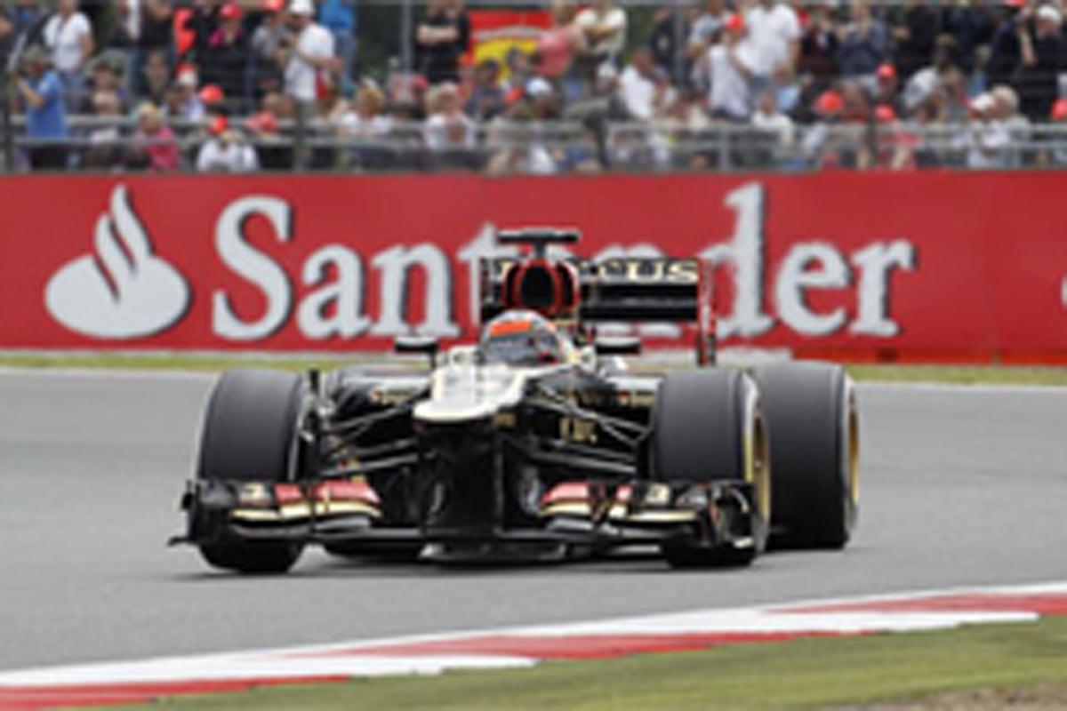 ロータス F1イギリスGP 予選