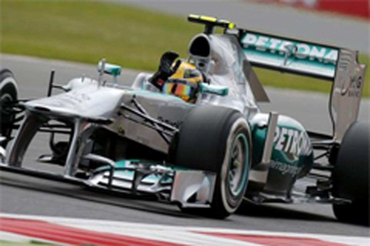 メルセデス F1イギリスGP 予選