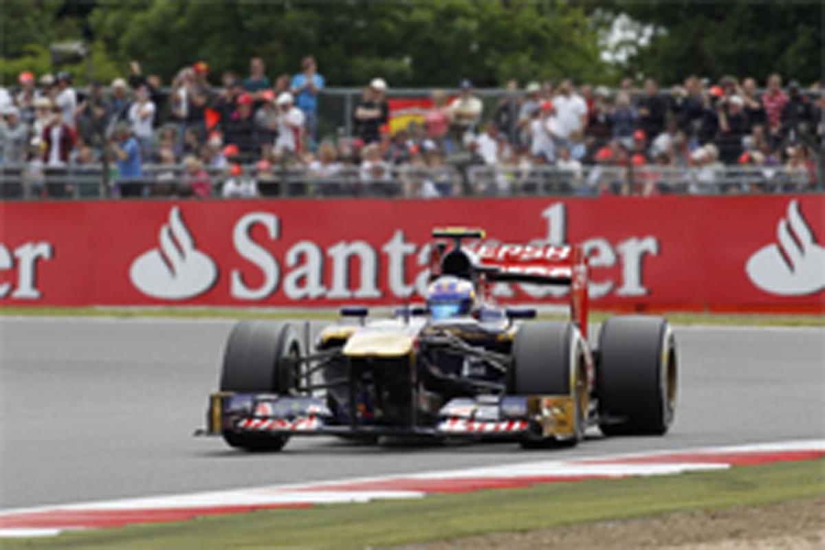 トロ・ロッソ F1イギリスGP 予選