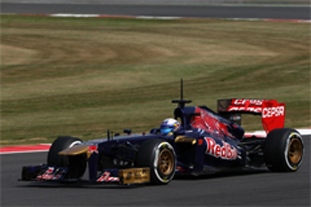 2013年 F1若手ドライバーテスト2日目