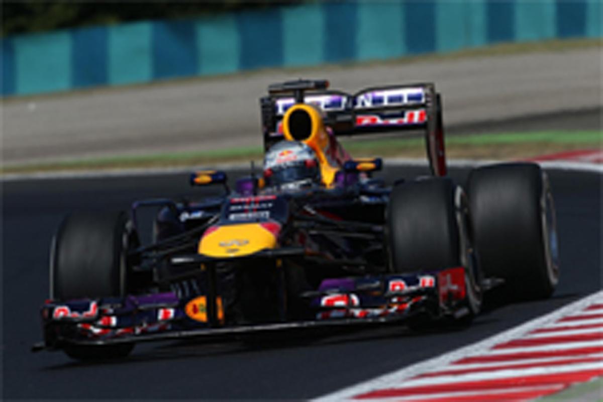 F1ハンガリーGP フリー走行2回目