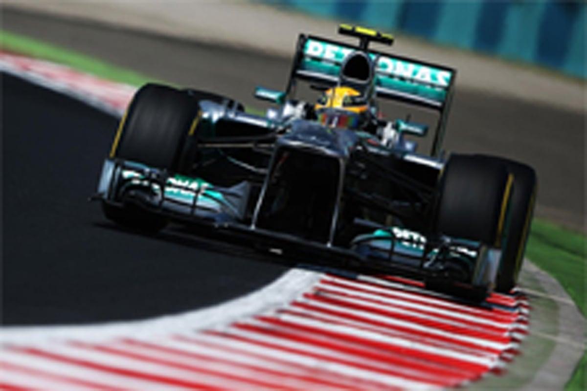 F1ハンガリー 予選 結果