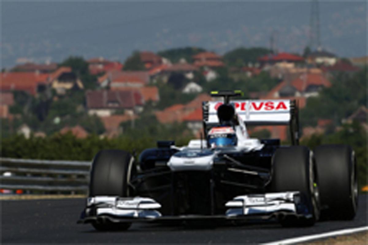 ウィリアムズ F1ハンガリーGP 初日