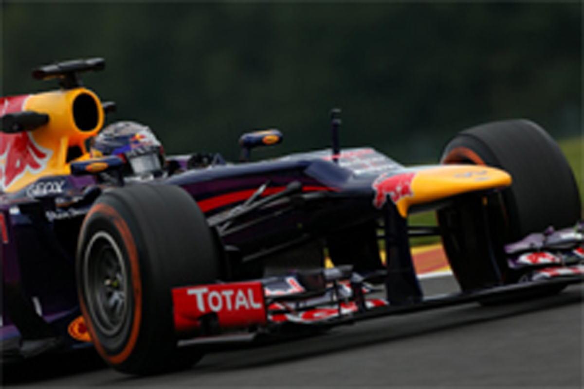 F1ベルギーGP フリー走行2回目