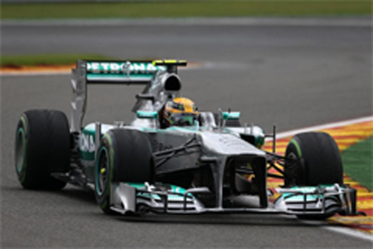 F1ベルギーGP 予選