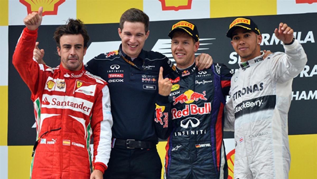 F1 ベルギーGP 決勝