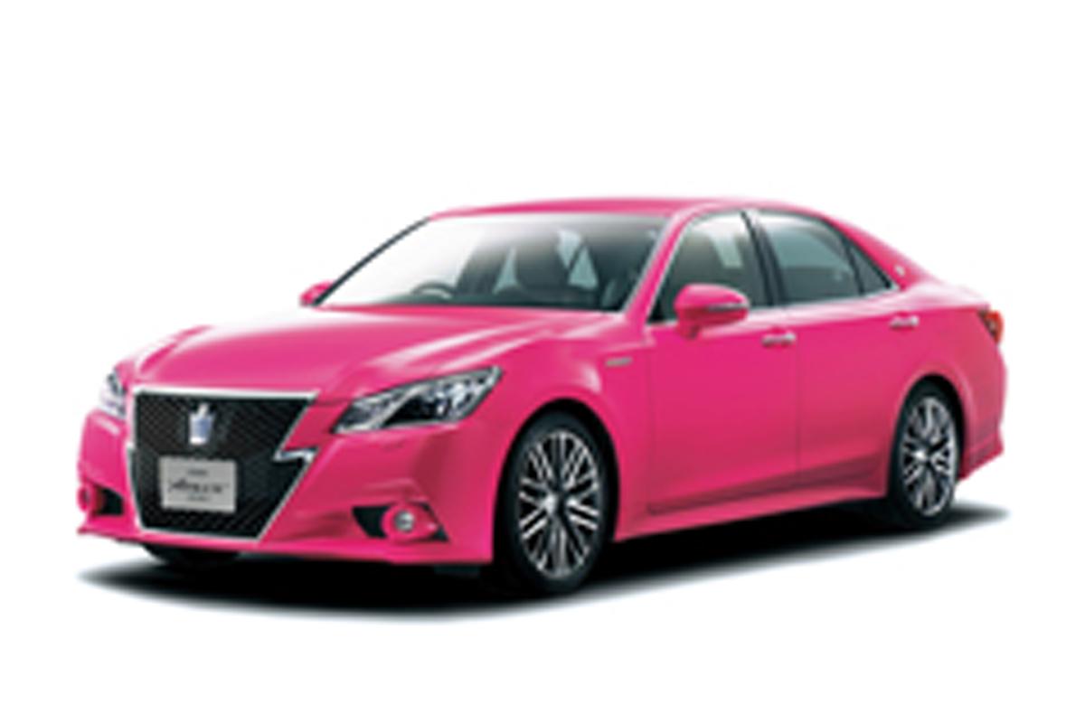 トヨタ クラウン ピンク