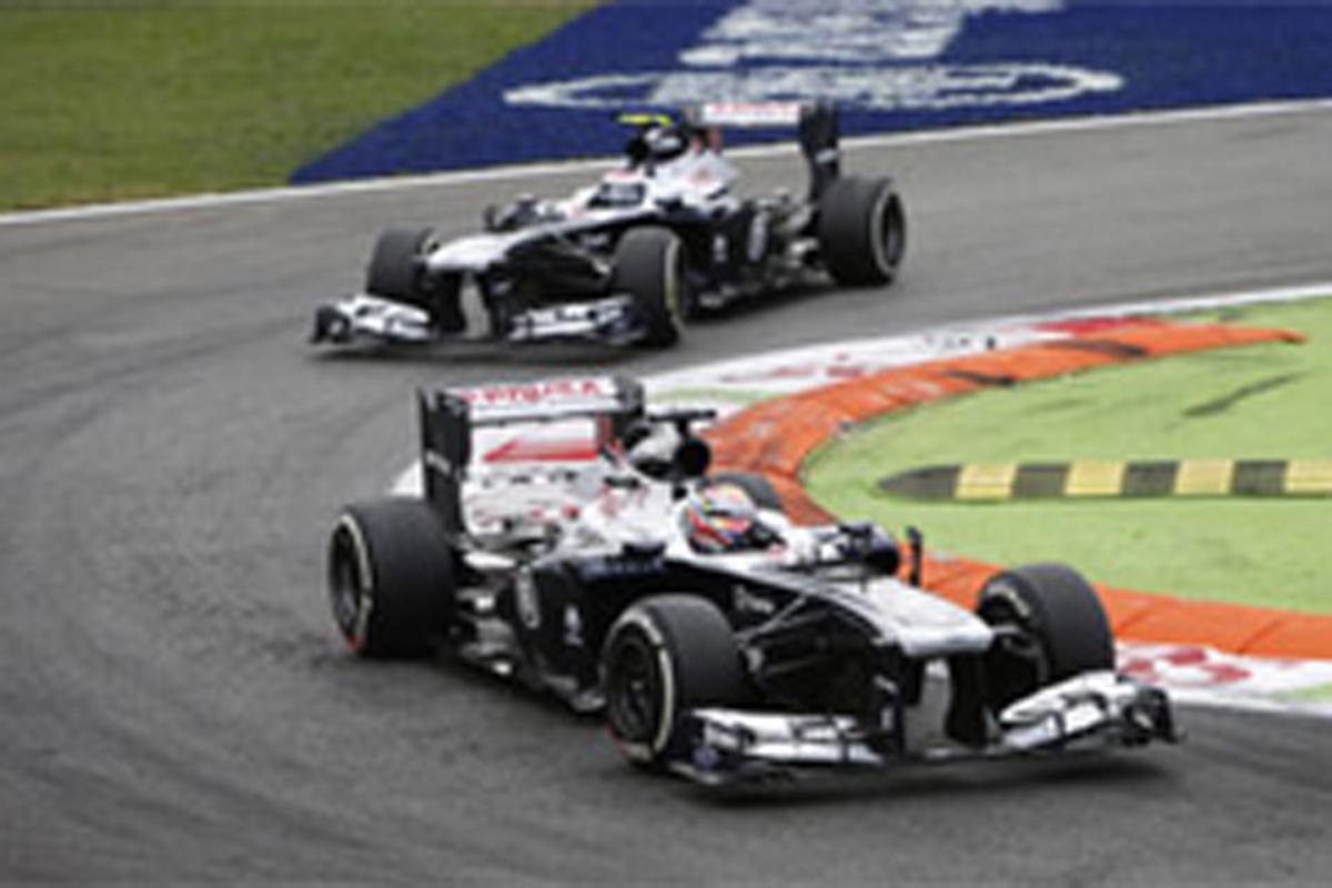 ウィリアムズ F1イタリアGP 結果