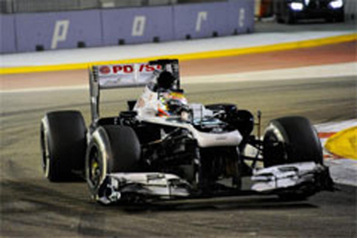 ウィリアムズ F1シンガポールGP