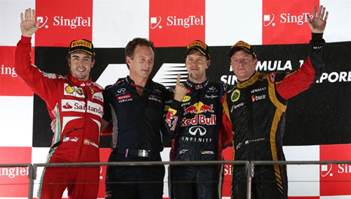 F1 シンガポールGP 決勝