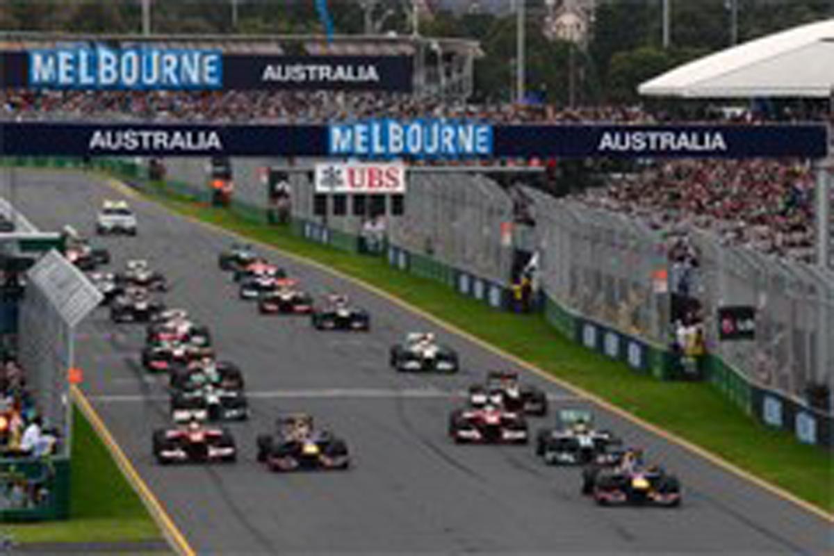 2014年 F1カレンダー