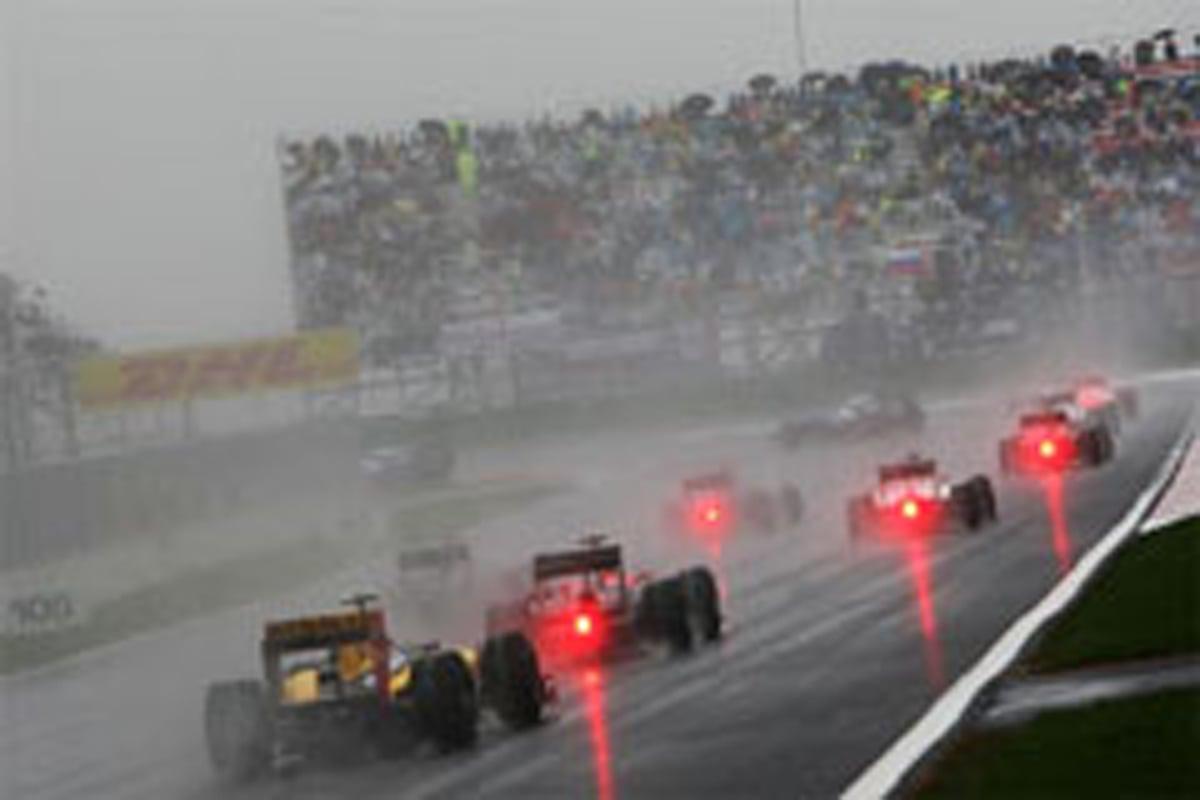 F1韓国GP 台風23号