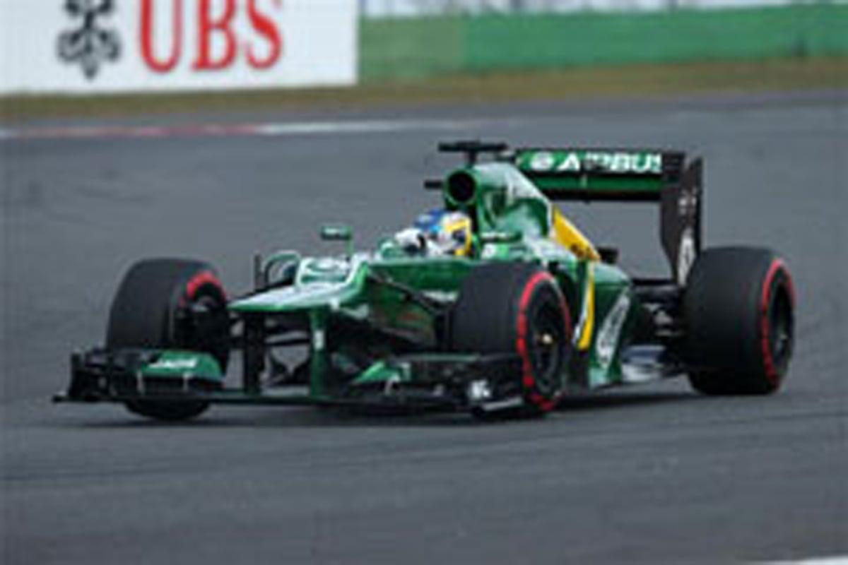 ケータハム F1韓国GP 予選