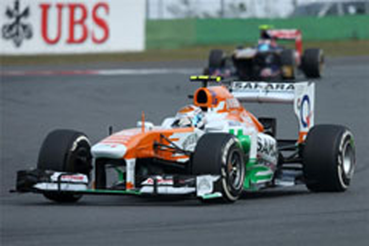 フォース・インディア F1韓国GP 予選