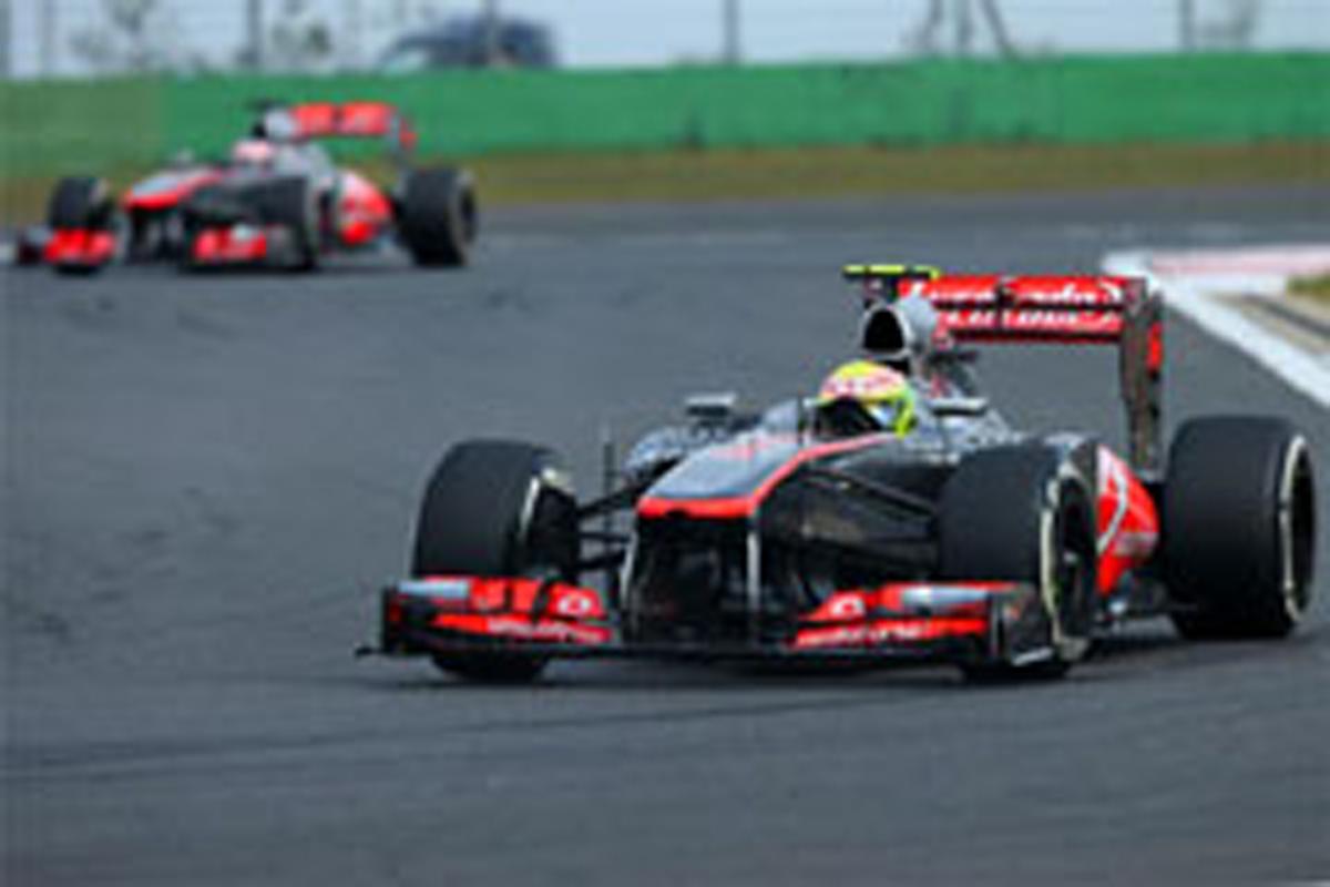 マクラーレン F1韓国GP 予選