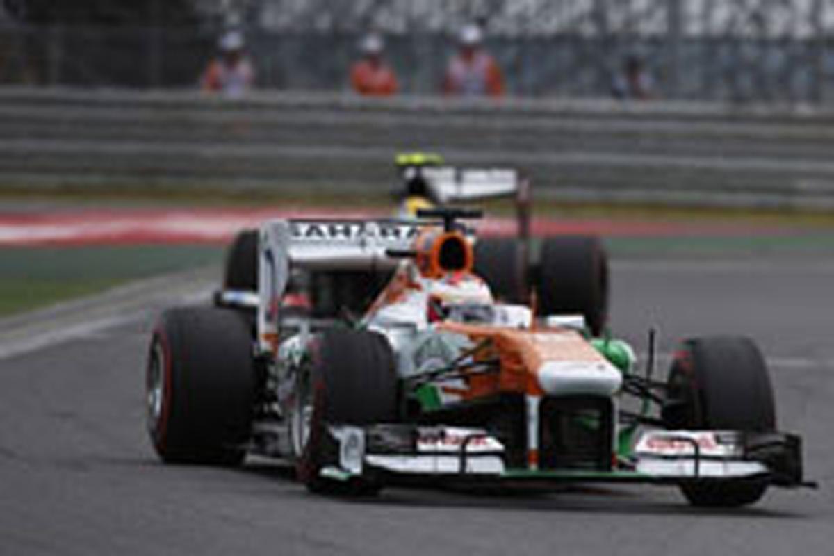 フォース・インディア F1韓国GP
