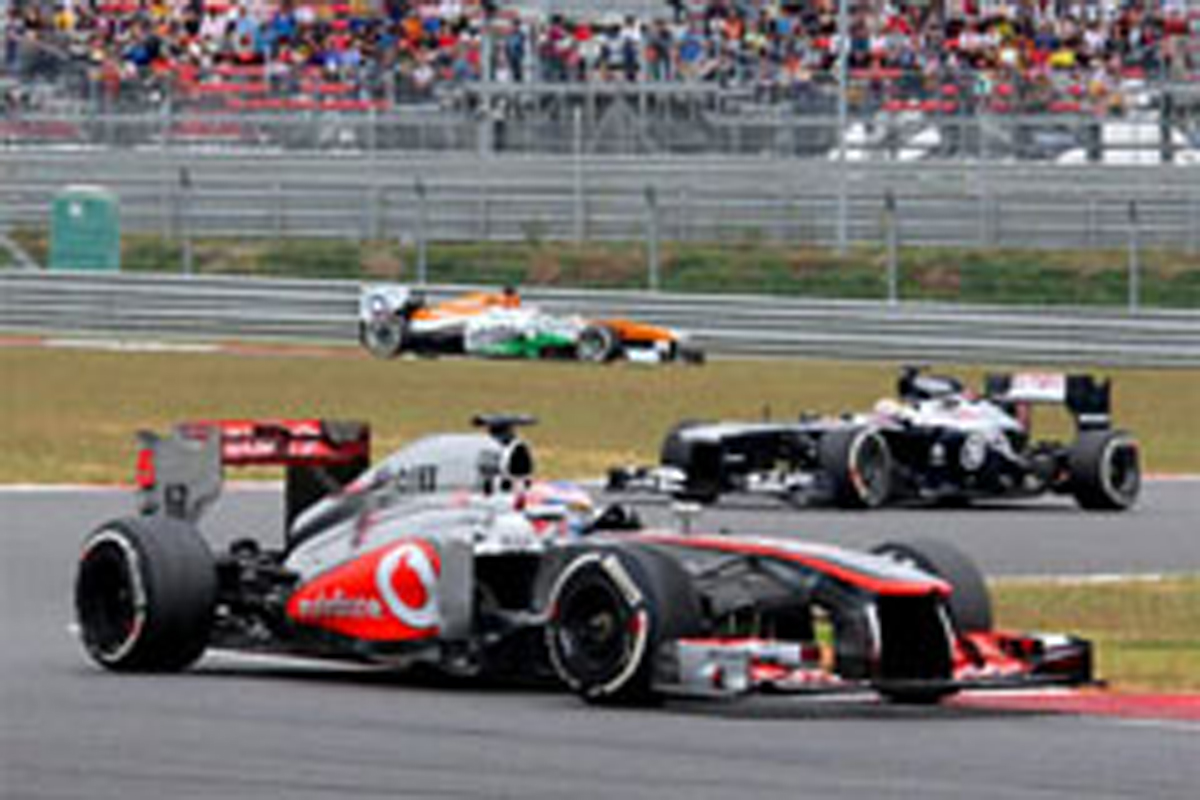 マクラーレン F1韓国GP