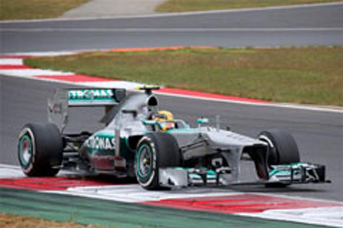 メルセデス F1韓国GP