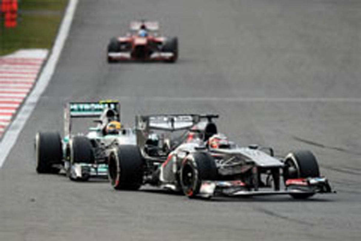 ザウバー F1韓国GP