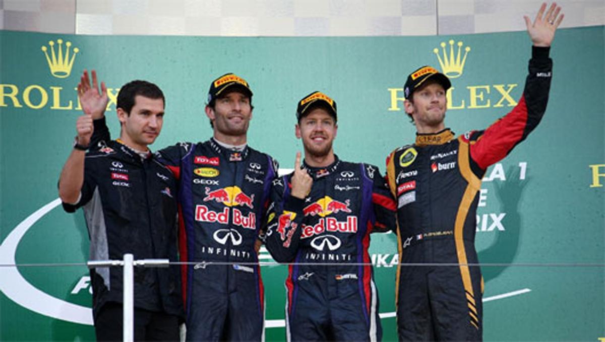 F1 日本GP 決勝