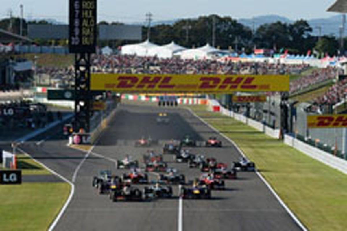 F1日本GP 結果