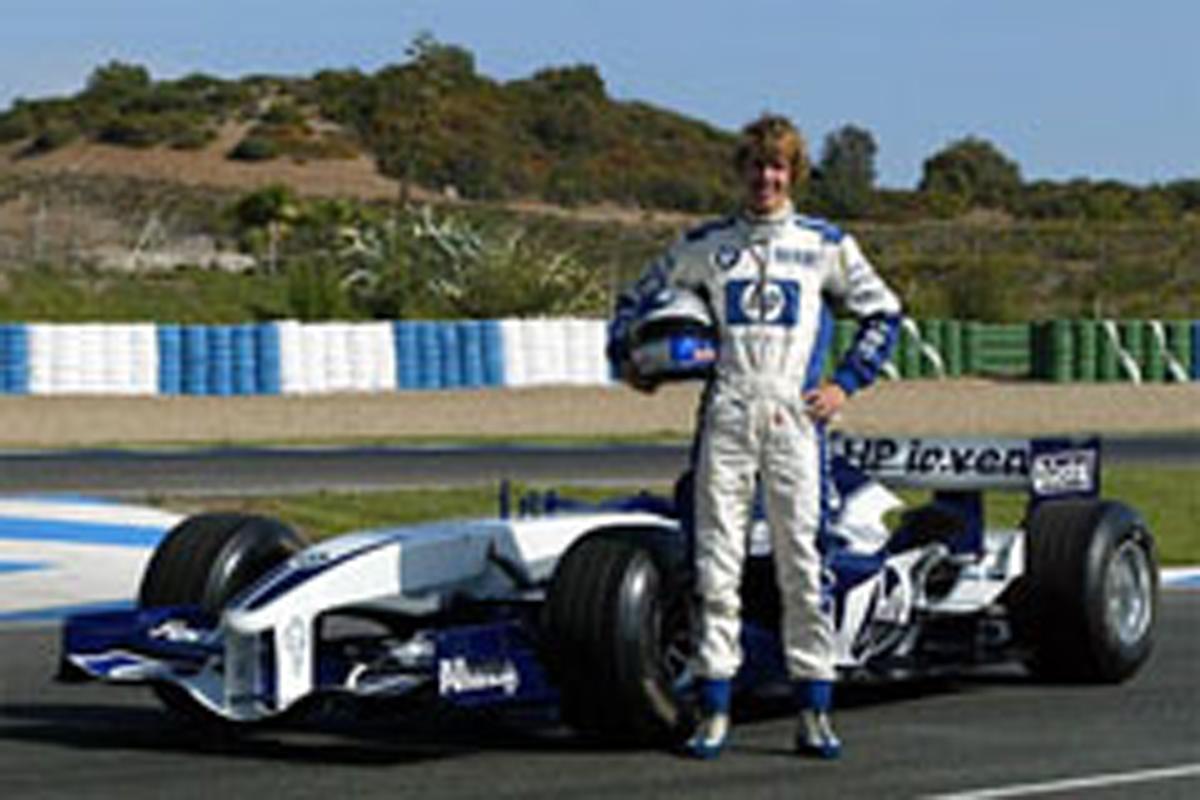せバスチャン・ベッテル 「初F1テストでは怖気づいた」