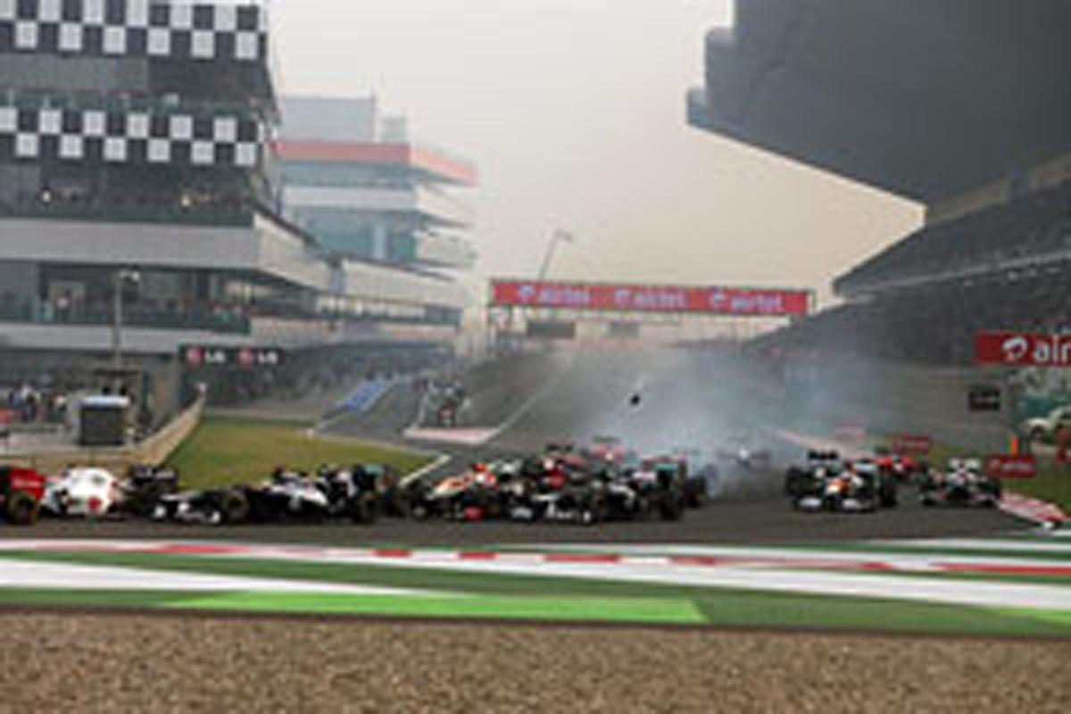 F1インドGP