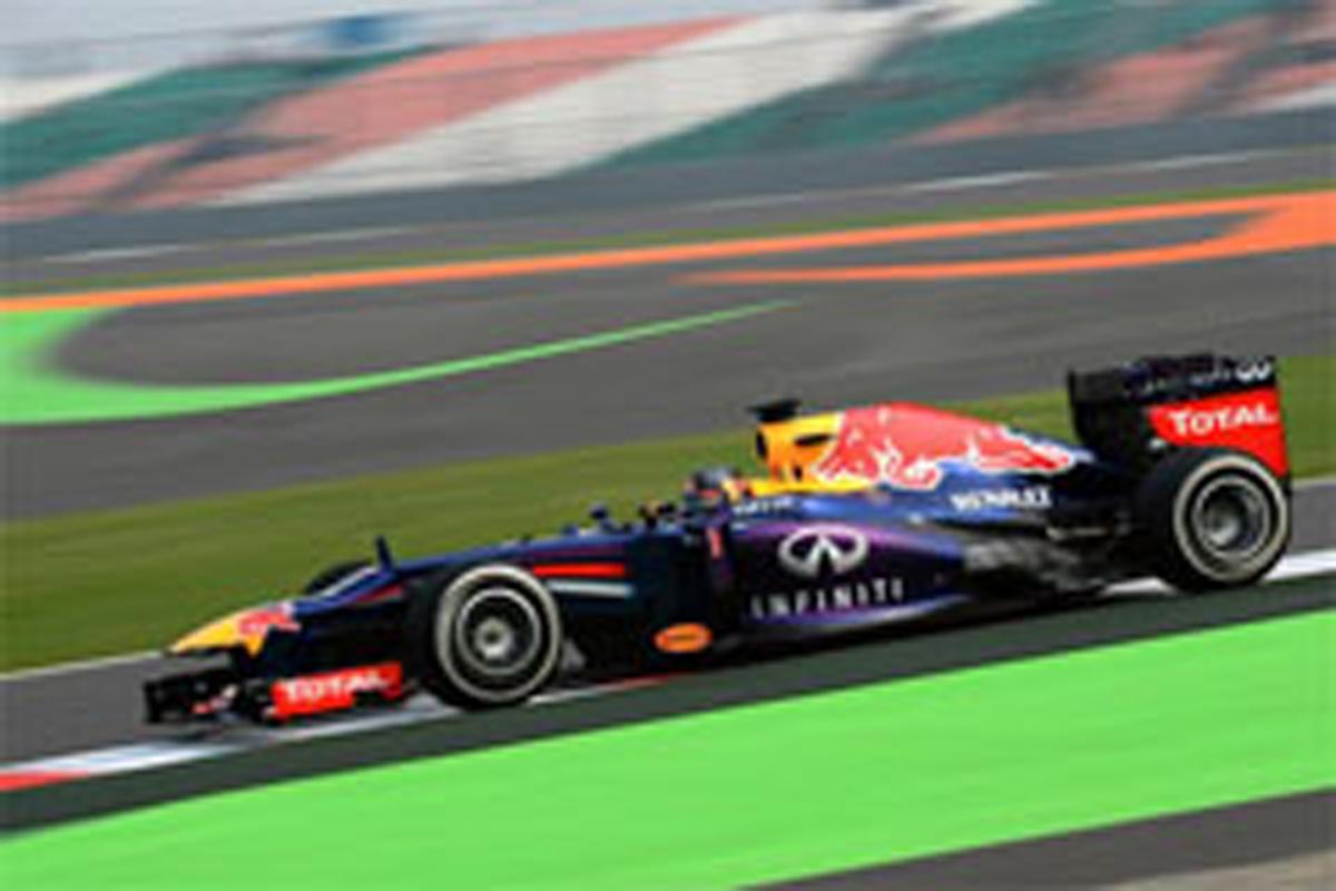 F1インドGP フリー走行2回目