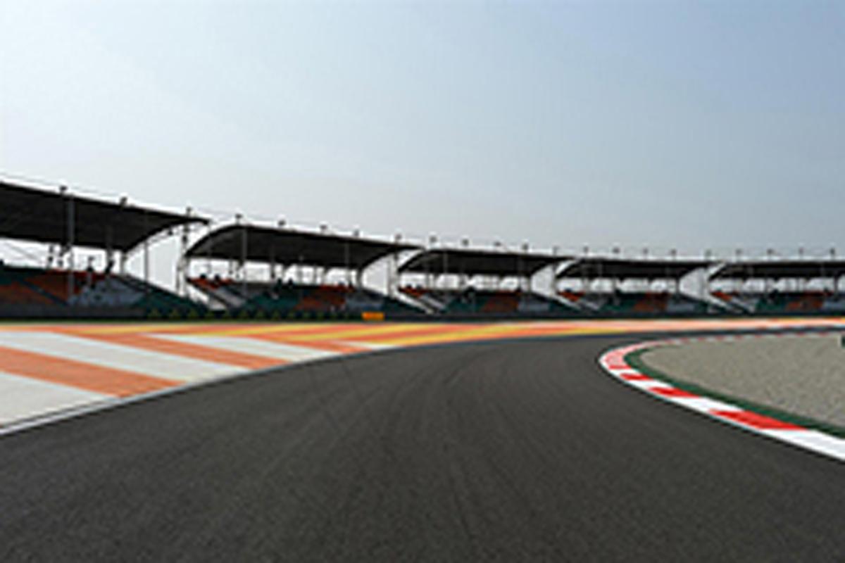 F1インドGP フリー走行1回目