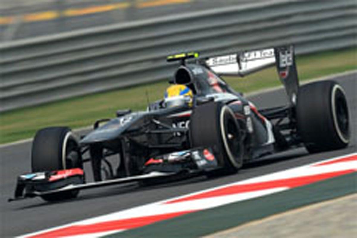 ザウバー F1インドGP 初日