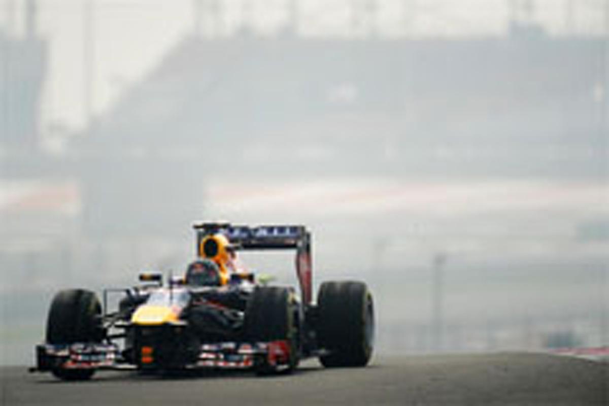 F1インドGP フリー走行3回目