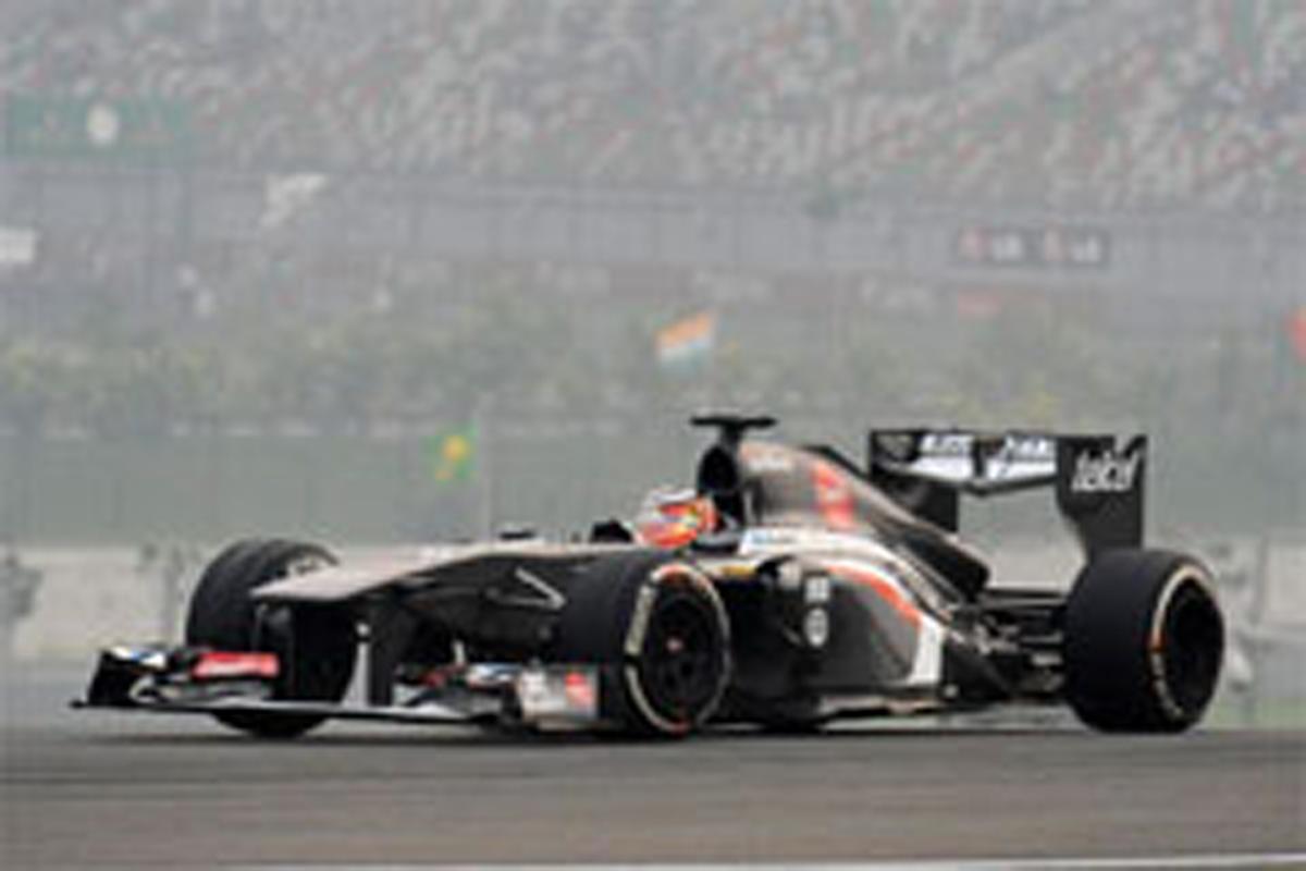 ザウバー F1インドGP 予選