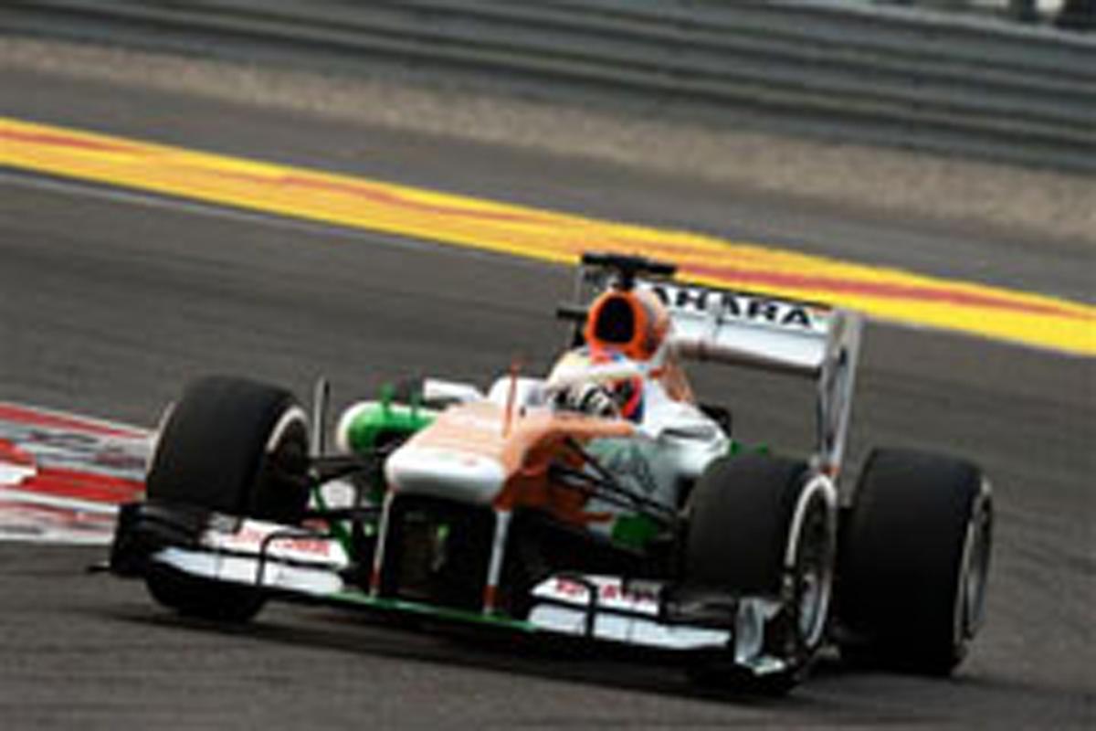 フォース・インディア F1インドGP 結果