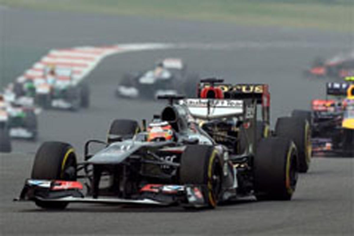 ザウバー F1インドGP 結果