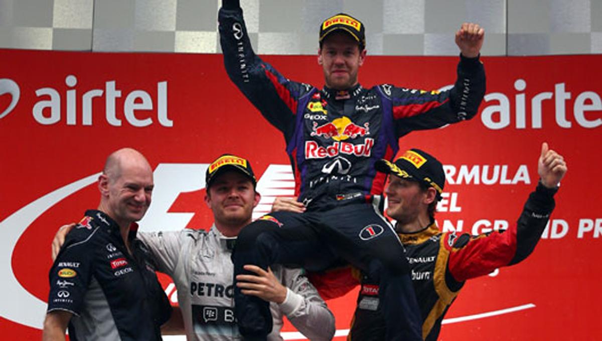 F1 インドGP 決勝