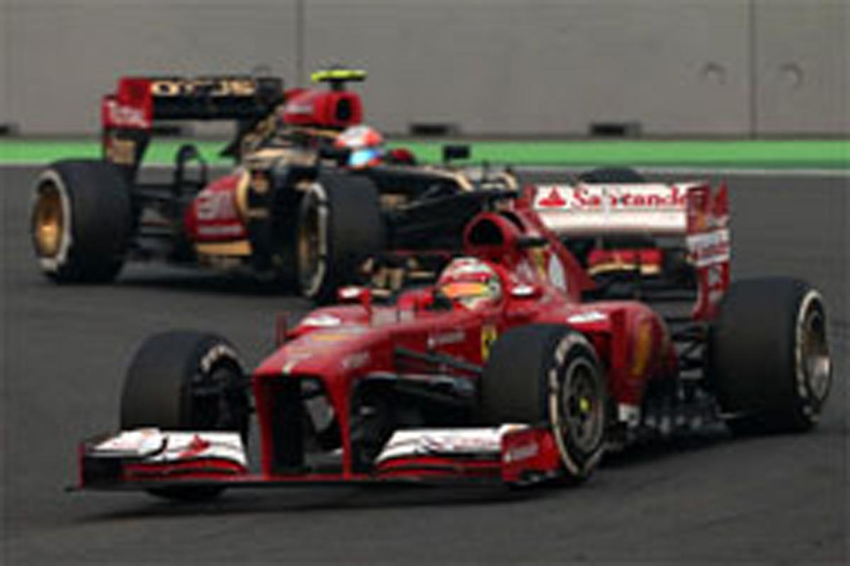 フェラーリ F1インドGP 結果